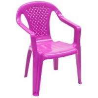 Krēsliņš Camelia plastm.lillā