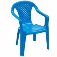 Krēsliņš Camelia plastm.zils