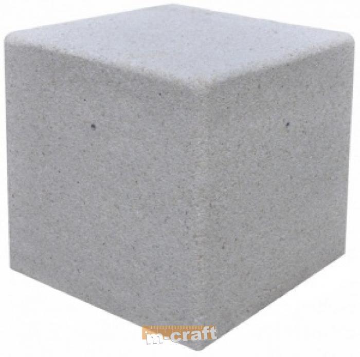 Куб бетонный 70x70 Изделия из металла и бетона Каталог M-Craft Instrumenti