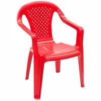 Krēsliņš Camelia plastm.sarkans