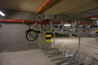 Two level bicycle stand / 20 bike