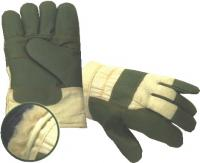 Working gloves, leather