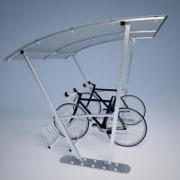 Bike Shelter SWIT with bike holder CROSS