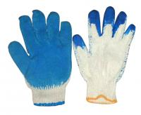 Latex gloves, blue