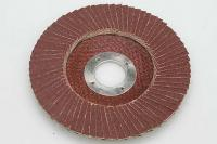 Flap grinding disc, for metal/wood