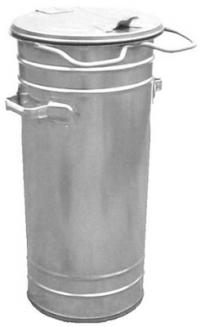 Containers for communal waste / Metal 55 l