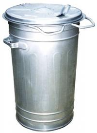 Containers for communal waste  Metal 80L