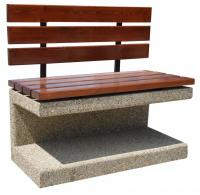 Concrete bench 95x110