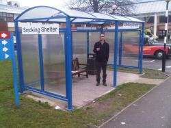 VOUTE 2 BICYCLE SHELTER L 5000 x W 2090 mm