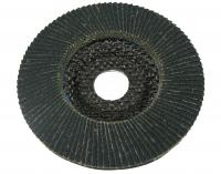 Leafed grinding disc, 125 x 22.2 mm (27LA), for metal/inox