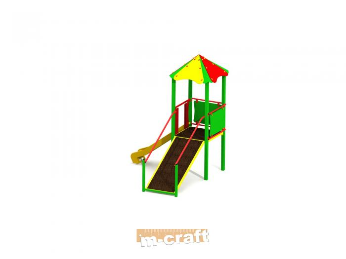 Standard Playground Set no.4, In-Ground Mount
