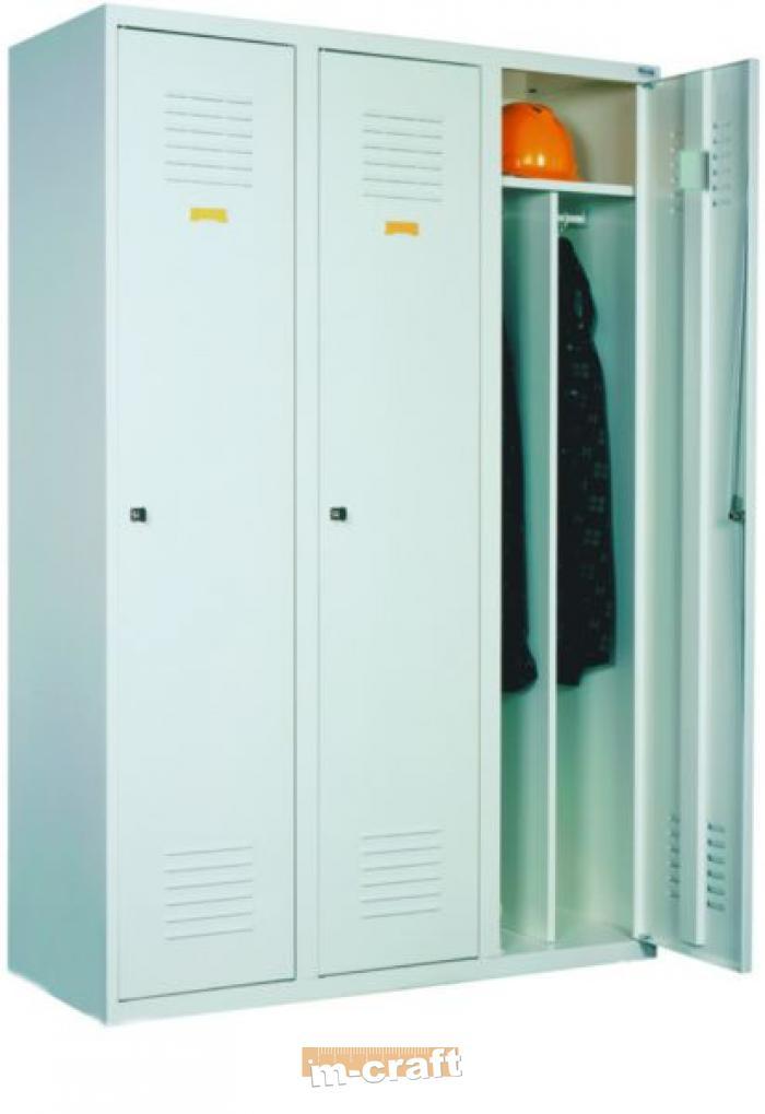 Трёхдверный гардеробный шкаф с ножками sum 431 купить в кали.