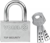 Solid iron padlock. Set contains 4 keys