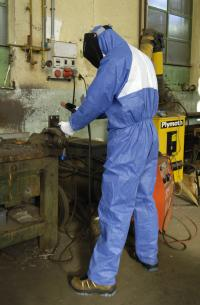 3M Protective coverall, blue