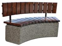 Concrete bench 200x45