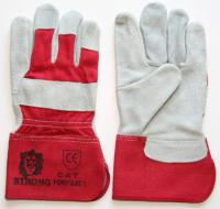 "Working gloves, leather  ""FORVARDER"""