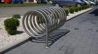 Bicycle holder VIRO PION 125 betonēšanai